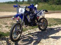 Yamaha Yz 125 road legal 7 months mot