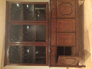 Hutches China cabinet