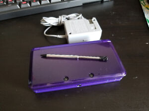 Nintendo 3DS (Regular) with pen & charger