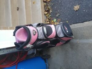 Ladies Fazer Golf Clubs and Bag for sale