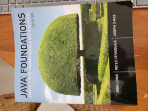 Java Foundations: intro to prog. & data str. 4th ed.John Lewis