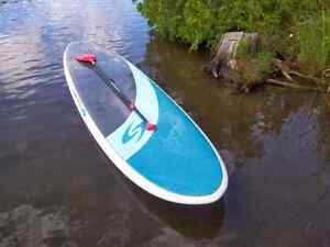 Surf tech 11,6 sup paddle and leash .