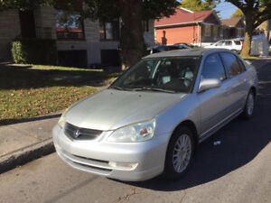 2002 Acura EL 1.7 Premium Sedan Leather / Sunroof