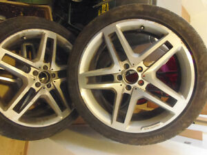 "Real German AMG mags 20"" set of 4 for Mercedes GLK"