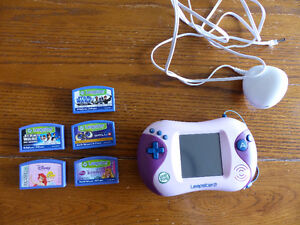 Leapster 2 with AC Adapter, 5 games