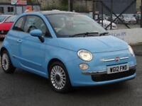 2012 Fiat 500 0.9 TwinAir Lounge 3dr (start/stop)