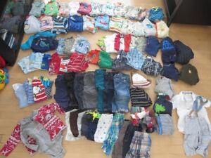 Lot vêtements garçons 9 mois