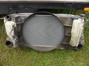 97 Dodge Diesel - Intercooler - New Radiator in the Rad Support