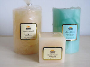 Scented Pillar Candles for own use or gift *New*