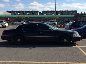 2009 Lincoln Town Car (crown Victoria police)