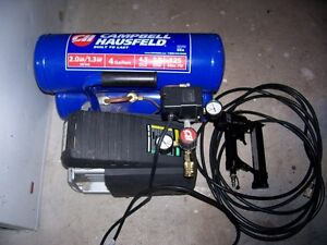 4 GALLON COMPRESSOR WITH 18 GAUGE BRAD NAILER