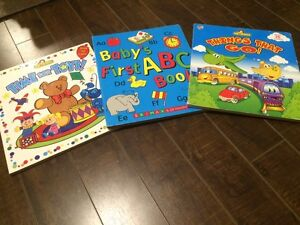 Lot of Three Large Kids Flap Board Books - Great condition!