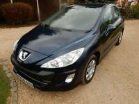 CHEAP CAR - 2010 60 PEUGEOT 308 1.6 S 5D AUTO 120 BHP