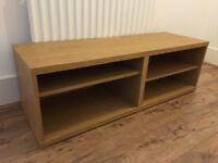 IKEA Besta TV Bench - Oak Effect