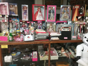 Barbies, mini figures, collectibles plus 1000 booths to explore
