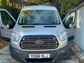 2016 66 FORD TRANSIT 2.2TDCi ( 155PS ) 350 L2H2 TREND / AIR-CON / AA REPORT