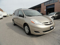 2007 Toyota Sienna LE Sedan, 1 YR WARRANTY, SAFETY,EMISSION,