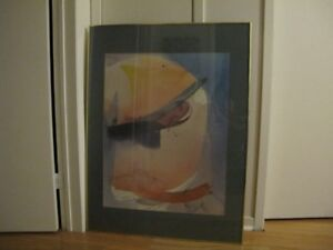 Abstract Framed Wall Art - REDUCED PRICE!