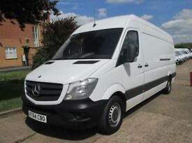 2015 64 MERCEDES-BENZ SPRINTER 2.1 313CDI LWB HIGH ROOF. 1 OWNER. FACELIFT MODEL