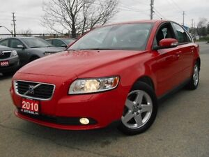 2010 Volvo S40 2.4L, SUNROOF, LEATHER, POWER GROUP, LOADED, ...