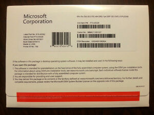 Microsoft Windows Server r2 2012 Std English OEM (2 CPU/2 VM)
