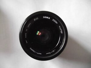 SIGMA ZOOM LENS