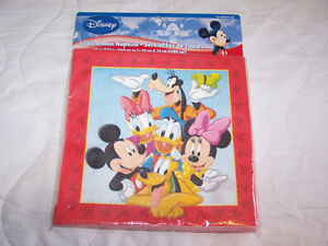 Mickey Mouse Napkins 24