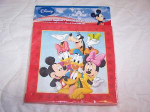 Mickey Mouse Napkins 24