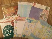 New Scrapbooking Pads and Kits