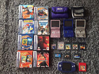 HUGE Bundle: Nintendo DS/Gameboy Advance/PS2 & More - individually priced