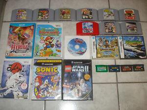 Wii U,Wii,Gamecube,N64,GBA & DS Games!