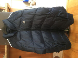 ADIDAS NAVY BLUE  WINTER JACKET SIZE LARGE