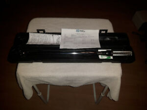 "Torque Wrench Gray Tools 1/2"" Drive Model # MRF250HD"