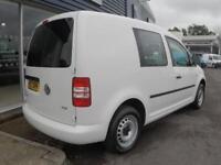 2013 Volkswagen CADDY C20 TDI 102 KOMBI 5 SEATER *NO VAT* Manual Crew Van