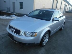 2002 Audi A4 AWD 3.0L Excellent Condition Only 107000K
