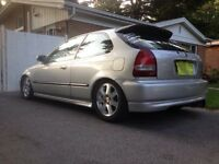 Honda Civic 2000 hatchback