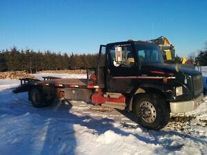 Camion Plateforme Freightliner