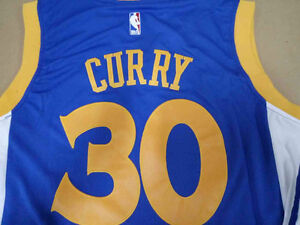 BRAND NEW REPLICA STEPH CURRY GOLDEN STATE WARRIORS JERSEY