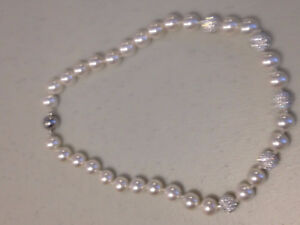 """Ladies """"Lumar Creations"""" Double Knotted Pearl Strand 18"""" Necklac"""