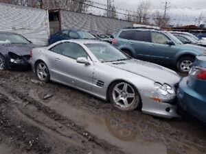 Mercedes SL500 2003 PLUSIEURS bonnes pièces disponibles