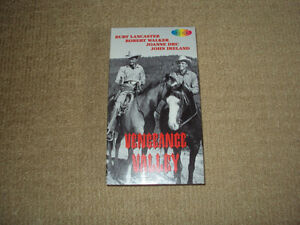VENGEANCE VALLEY, VHS, EXCELLENT CONDITION