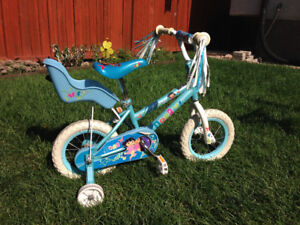 "Girls Dora 12"" Bike"