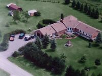 Ranch bungalow on 2 Acre Lot with Inlaw Suite
