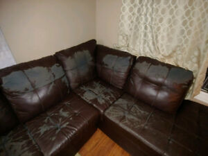 L-shape sectional for sale   CHEAP!