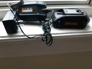 Worx battery and charger brand new