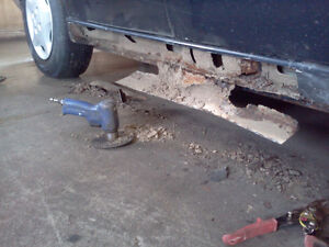 Car or Truck Rust Repair and Restoration Services
