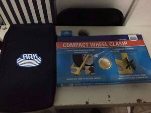 Brand new compact wheel clamp sealed in box Botany Botany Bay Area Preview
