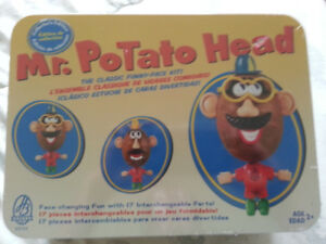 50TH  ANNIVERSARY   ..   MR. POTATO  HEAD