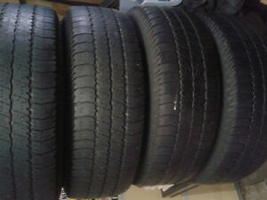 Set of 4 Jeep rims with Goodyear tires Windsor Region Ontario image 3