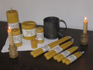 100% Natural Beeswax Candles Kitchener / Waterloo Kitchener Area image 4